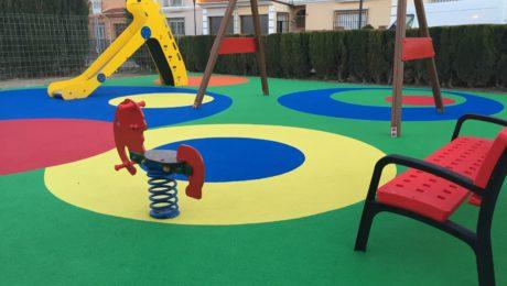 pavimento continuo, parques infantiles, urbijuegos