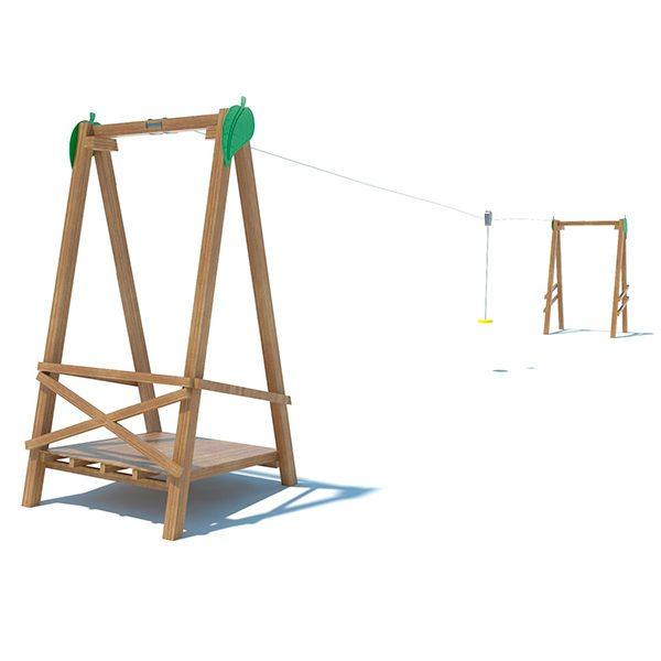 tirolina-madera