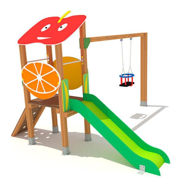 FRU-002_torreta_2_con_frutas_parques_infantiles_urbijuegos