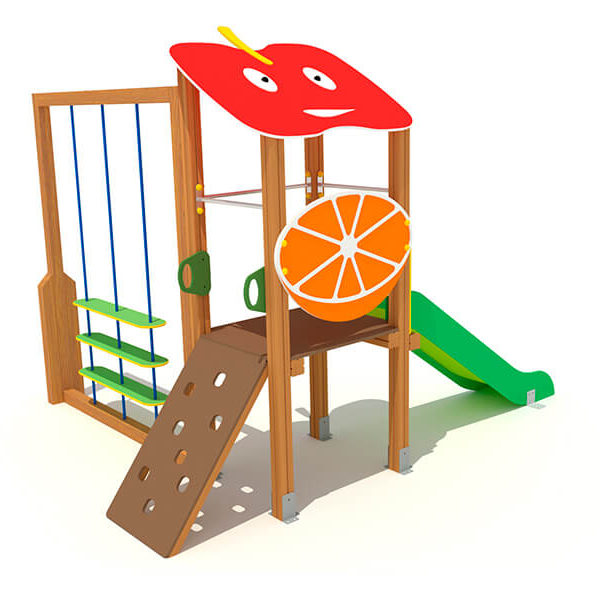 FRU-003_torreta_3_con_frutas_juegos_infantiles_urbijuegos