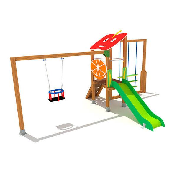 FRU-004_torreta_4_con_frutas_juegos_infantiles_urbijuegos